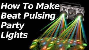 Party Lighting How To Make Beat Pulsing Party Lights Youtube