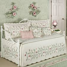 laura ashley girls bedding bed u0026 bedding posy quilted floral daybed comforter sets in white