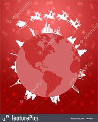 santa sleigh and reindeer holidays santa sleigh and reindeer flying around the world