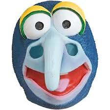 Gonzo Halloween Costume Gonzo Costume Big Nose Blue Muppets Mask Accessory Teen