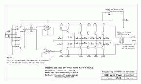 how inverter works wiring diagram components