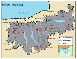 Finger Lakes New York Map by Great Lakes River Basin Photos