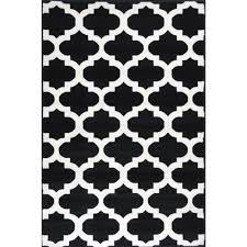 Modern Black And White Rugs Bright Modern Rugs Retro Funk Cloud Black White Free Shipping