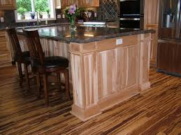 hickory kitchen island adorable brown color hickory kitchen cabinets featuring black