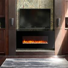 napoleon allure linear wall mount electric fireplace hayneedle