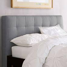 Bed Frames With Headboard Modern Headboards Platform Beds West Elm