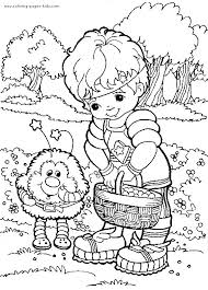 22 rainbow brite coloring pages images