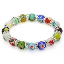 murano glass bead bracelet images Online shop venetian millefiori bead lampwork murano glass beaded jpg