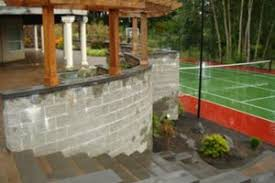 Average Cost Of Landscaping A Backyard Retaining Wall Cost Landscaping Network
