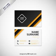 modern business card template free vectors ui download