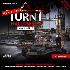 ra turnt halloween boat party at boat dutch master london 2016