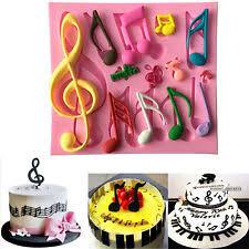 music note cake decorations ebay