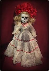 Porcelain Doll Halloween Costume Dress 80 Spooky Dolls Images Halloween Stuff Scary