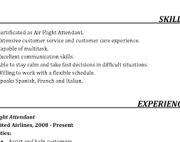 sle cv cover letter resume resumes with objectives awesome flight attendant resume