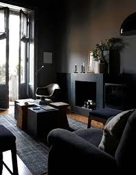living room gorgeous elegant black wall decor black fabric
