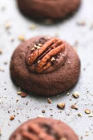 turtle thumbprint cookies creme de la crumb