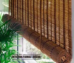 Bamboo Curtains For Windows Cortinas De Bambu Para Coberturas De Janela No Interior Home