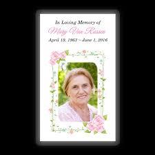 memorial card memorial card layout i topmemorial