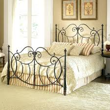 rod iron bed frame antique pink bed frame u2013 bare look