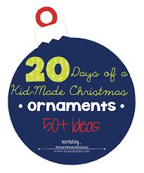 14 handmade christmas ornaments for kids and mom u0027s library 73