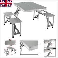 aluminum portable picnic table garden dining folding aluminum portable picnic table chair set
