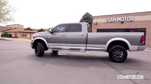 cummins truck lifted 2012 ram 3500 long bed 6 7l cummins turbo diesel lifted utah