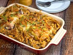 chicken or turkey supreme casserole the midnight baker