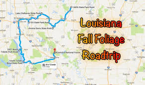 Louisiana how long does it take for mail to travel images The road trip will take you to the best fall foliage in louisiana jpg