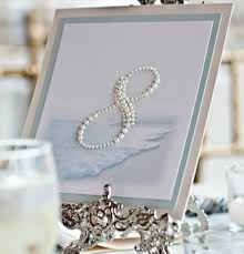 themed table numbers a wedding the preppy planner