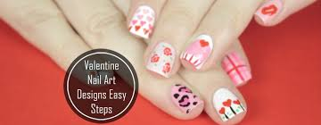 top 10 valentine nail art designs easy steps to try