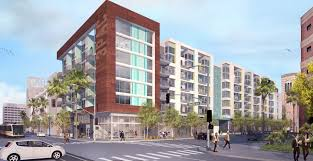Long Beach Towers Apartments Rent by Oceanaire Development Begins Construction In Long Beach Urbanize La