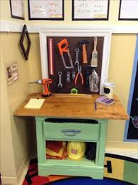 Pottery Barn Tool Bench Diy Kids Tool Bench I Made 5 End Table Plywood For Backboard