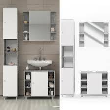 badezimmer weiß grau badmöbel set fynn weiß grau beton badezimmer real
