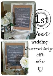 wedding gift traditions diy wedding anniversary gift idea