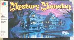vintage board game of mystery mansion u2013 all about fun and games