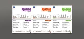 design logo ppt powerpoint template design for london business school