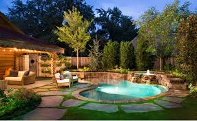 Images Of Backyards Backyards With Pools Marceladick Com