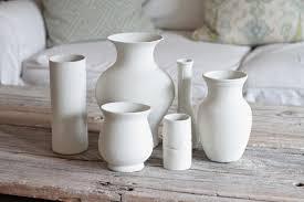 crisp interiors diy plaster vases smart move pinterest