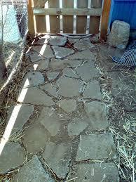 working with urbanite recycling concrete farming my backyard