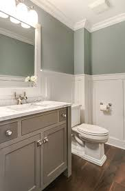 10 beautiful half bathroom ideas for your home wainscoting height