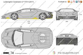 lamborghini aventador drawing outline the blueprints com vector drawing lamborghini centenario lp 770 4
