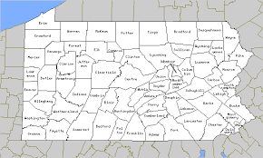 map of counties in pa pagenweb county map