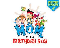 jake neverland pirates mom birthday boy disney