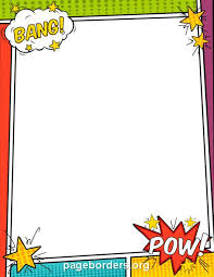 make your own comic book with these templates thirdgradetroop