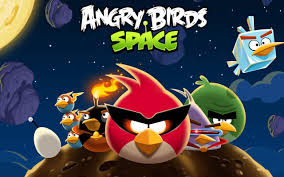 funny game angry birds space