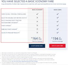 delta baggage fees basic economy buyer beware the good the bad u0026 mostly ugly
