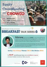 jakarta 2017 mitsubishi to export bmcc breakfast talk series 6 u2013 equity crowdfunding