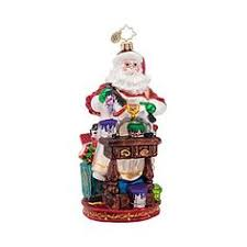 cooking claus ornament by christopher radko at horchow