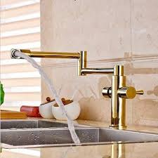 solid brass kitchen faucet aliexpress buy golden plate solid brass kitchen faucet