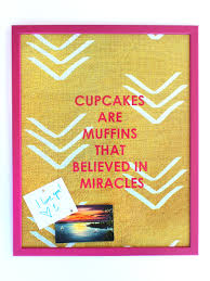 Magnetic Bulletin Board Cupcakes Are Muffins Magnet Board U2013 3 Sizes Redinfred